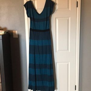 Mossimo Knit Stripe Maxi Dress
